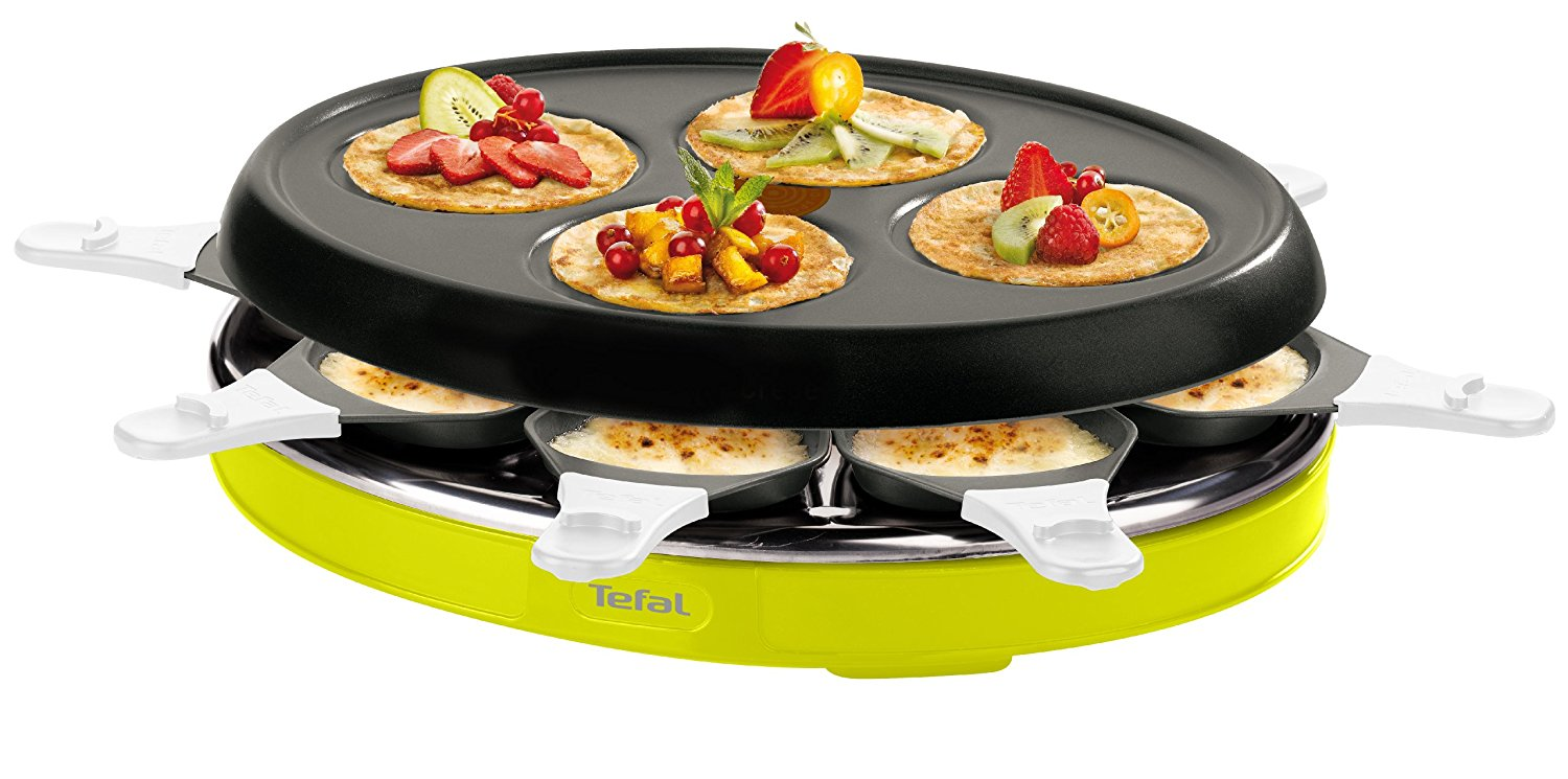 appareil a raclette tefal re138012 appareil. Black Bedroom Furniture Sets. Home Design Ideas